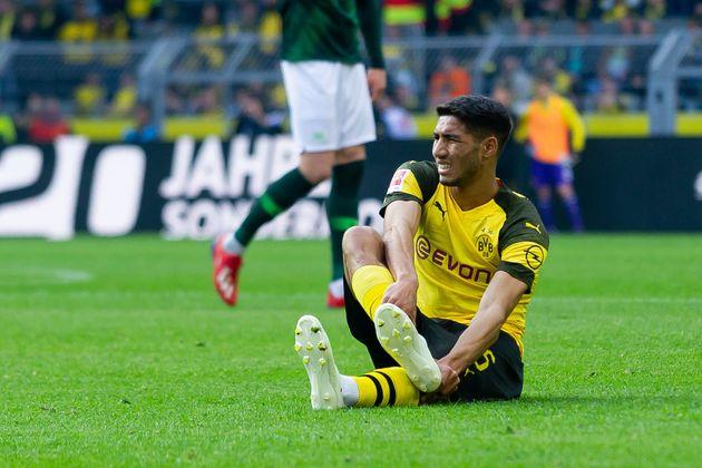 En arrêt jusqu'à la fin de la saison après une fracture du métatarse, Achraf Hakimi rassure ses