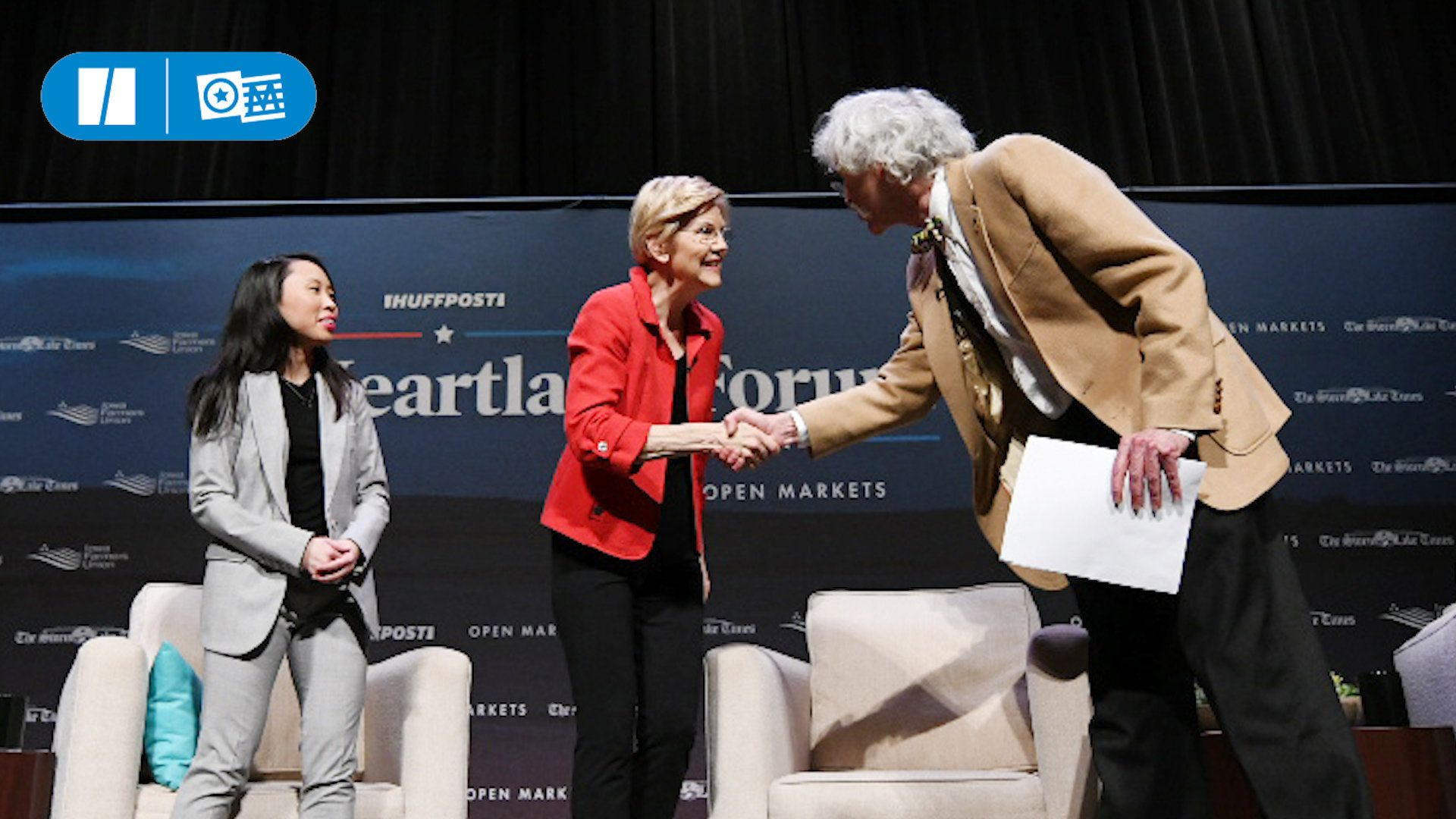 Democratic presidential candidates pitch to rural America at Heartland Forum.