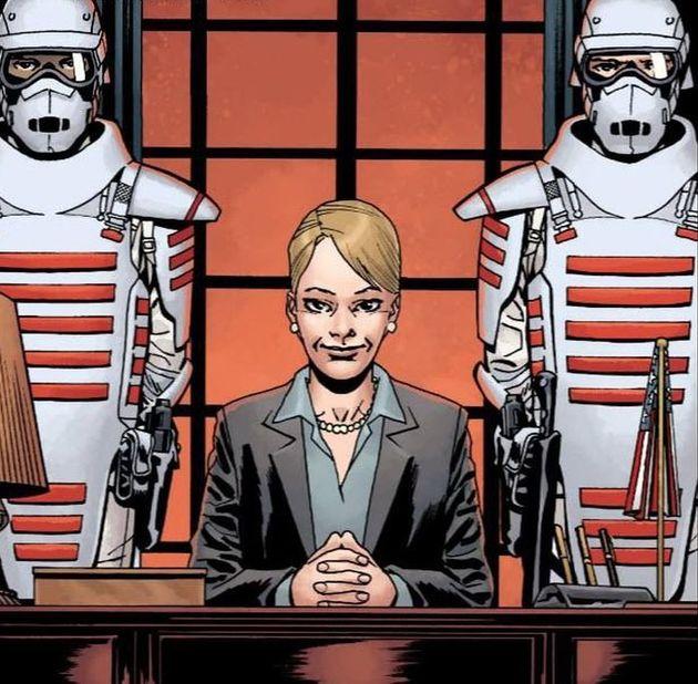 Un premier aperçu du groupe du CommonWealth dans les comics de