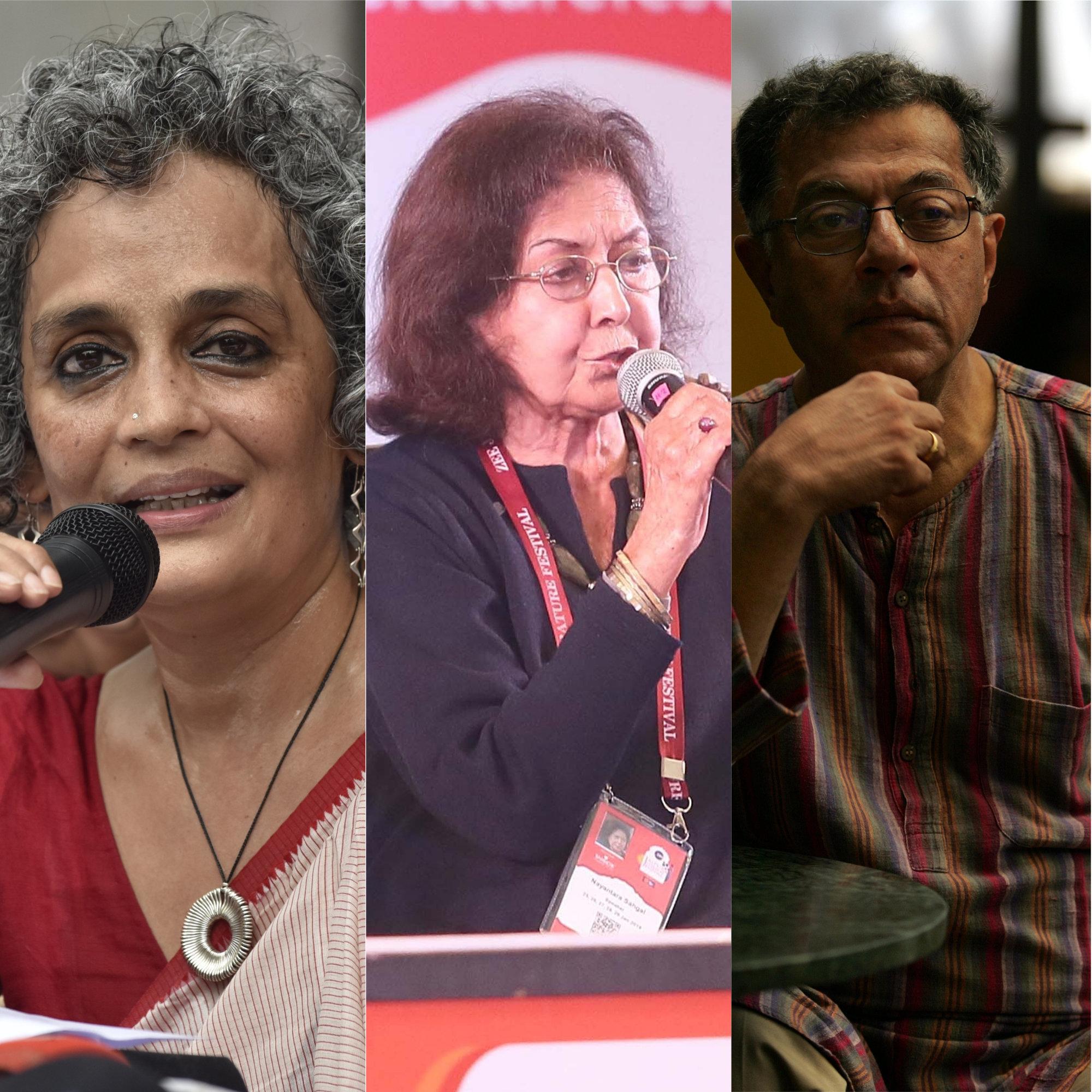 Arundhati Roy, Girish Karnad Among 210 Writers Asking People To Vote Against 'Hate