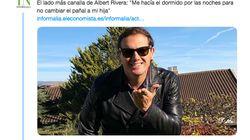 El titular sobre Albert Rivera y su