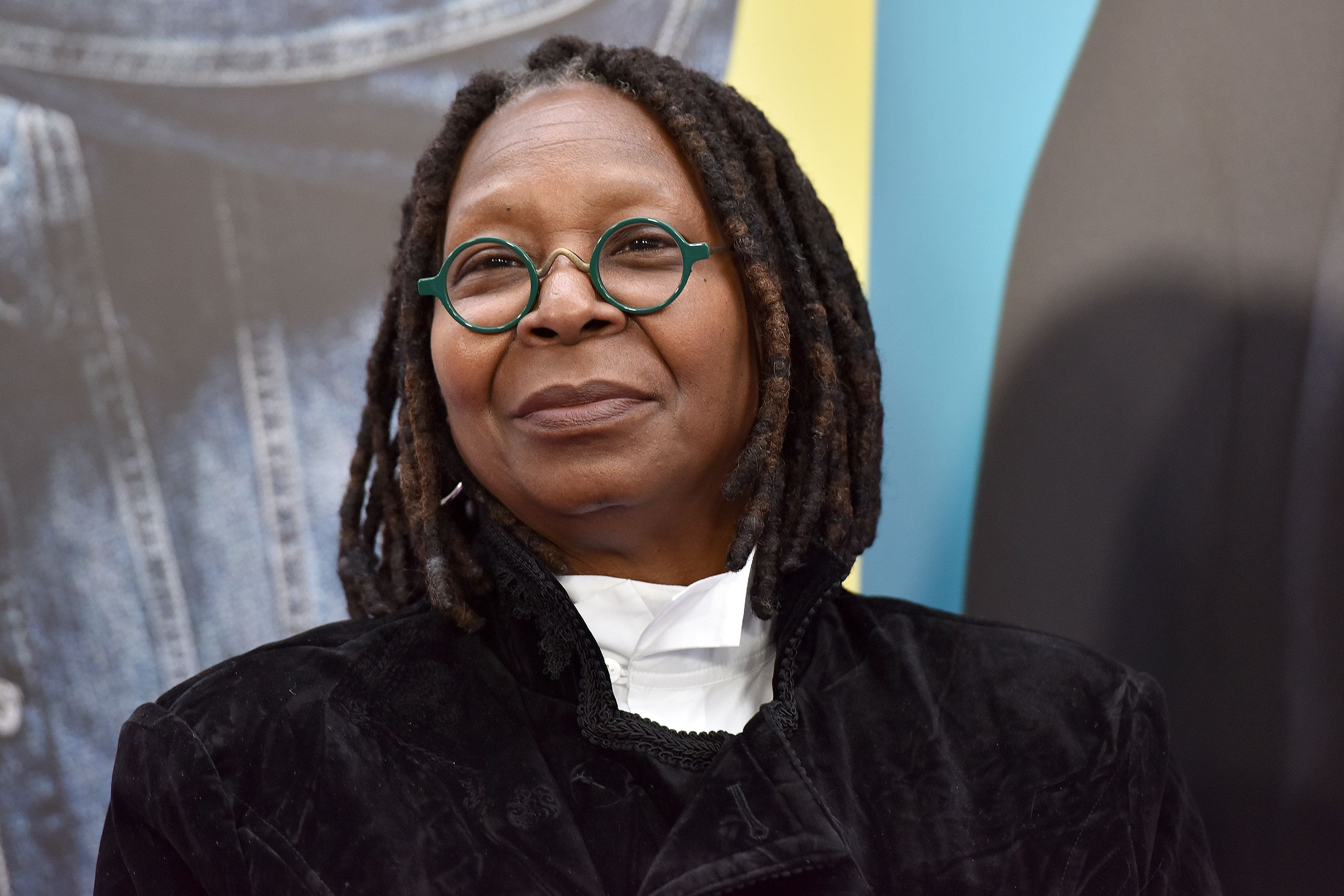 "Actress Whoopi Goldberg attends ""Nobody's Fool"" New York Premiere at the AMC Lincoln Square Cinemas in New York, NY, on October 28, 2018. (Photo by Anthony Behar/Sipa USA)"