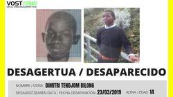 La Ertzaintza busca a un menor de 14 años desaparecido en