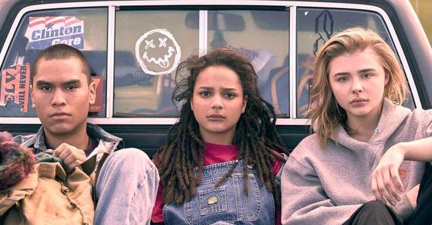 Da esquerda para a direita, os protagonistas de 'Cameron Post' são interpretados por Forrest Goodluck,...
