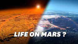 Des fleuves ont coulé sur Mars pendant plusieurs milliards