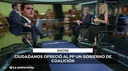 El reproche de Albert Rivera en plena entrevista en Antena 3:
