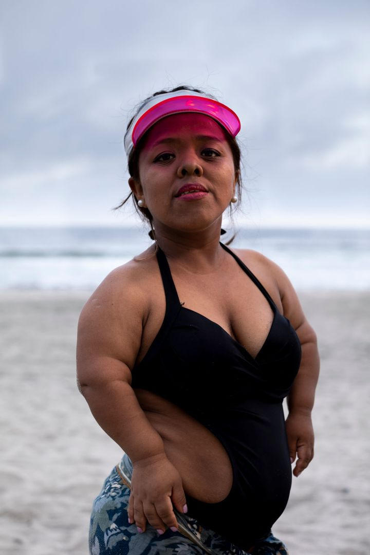 Karol, photographed in Peru