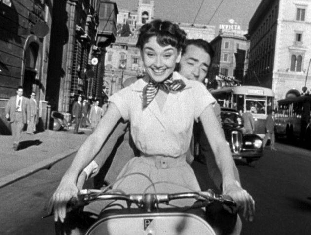 Audrey chamou a atenção do mundo pela primeira vez com a meiga eespevitada Princesa...