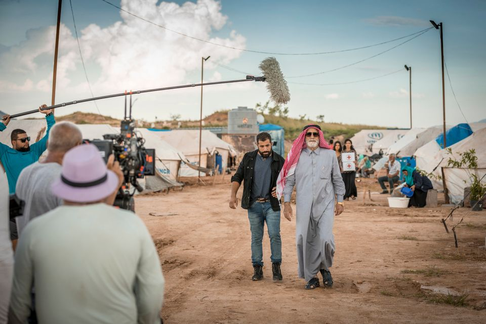 Refugiado, ex-BBB Kaysar interpreta Fauze, capanga do sheik Aziz Abdallah (Herson