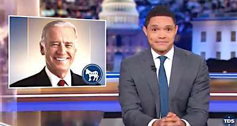 Trevor Noah of Joe Biden