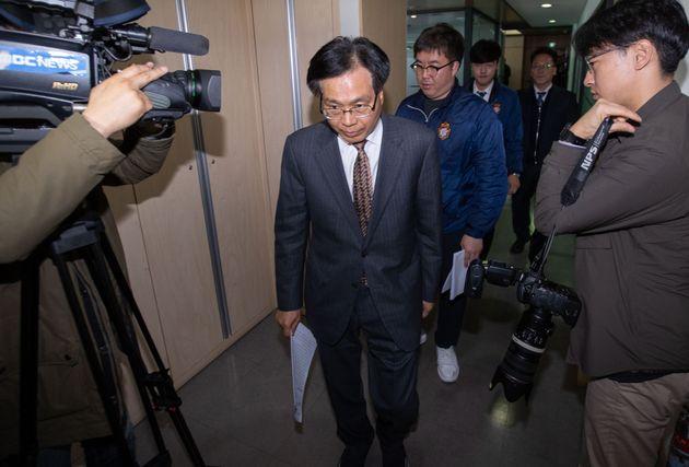 4월 2일 상벌위원회에 출석한 조기호 경남FC