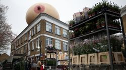 Giant Boobs Appear Around London To Destigmatise Breastfeeding In