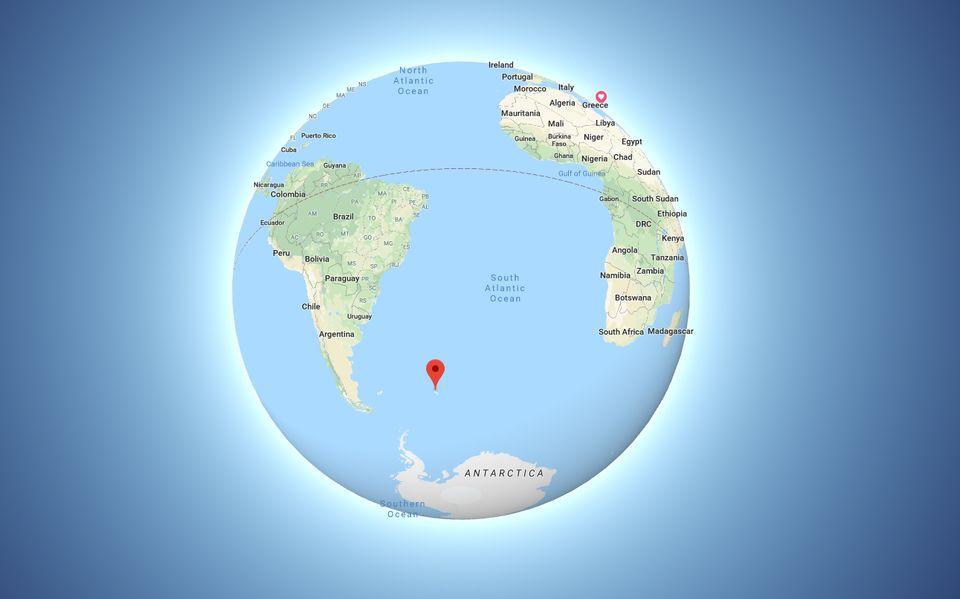Ταξίδι στο πιο απομονωμένο μέρος της γης (1.400 χιλιόμετρα μακριά από τον