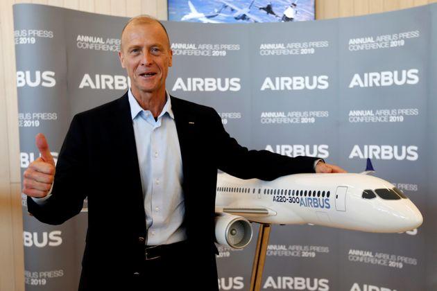 Après un exercice 2018 réussi, Tom Enders, le patron d'Airbus, va quitter l'entreprise...