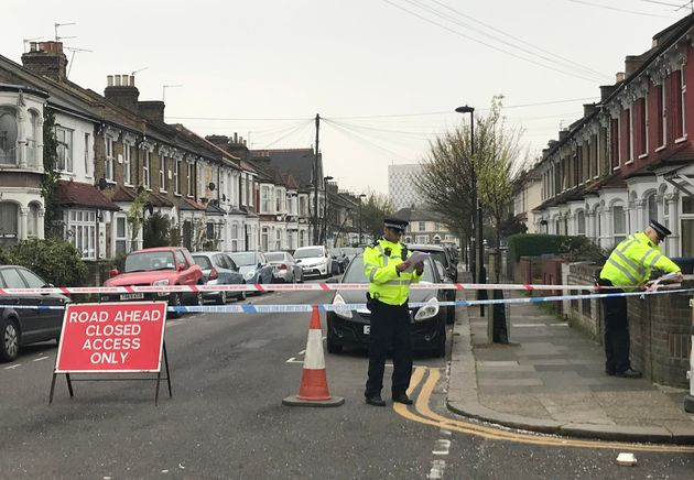 Police activity near the scene of where a man has suffered life-threatening injuries after a stabbing...