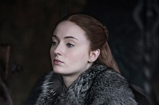 Sophie Turner, alias Sansa Stark dans la série