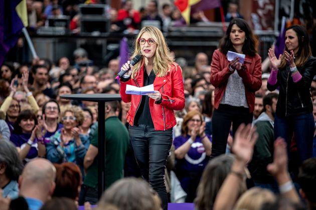 María Eugenia Rodríguez Palop, candidata de Podemos a las elecciones
