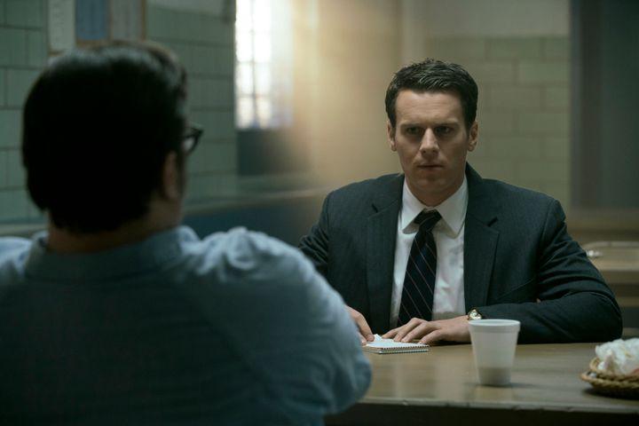 "Jonathan Groff in ""Mindhunter"" on Netflix."
