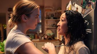 "Jodie Comer and Sandra Oh in ""Killing Eve"" on Netflix."