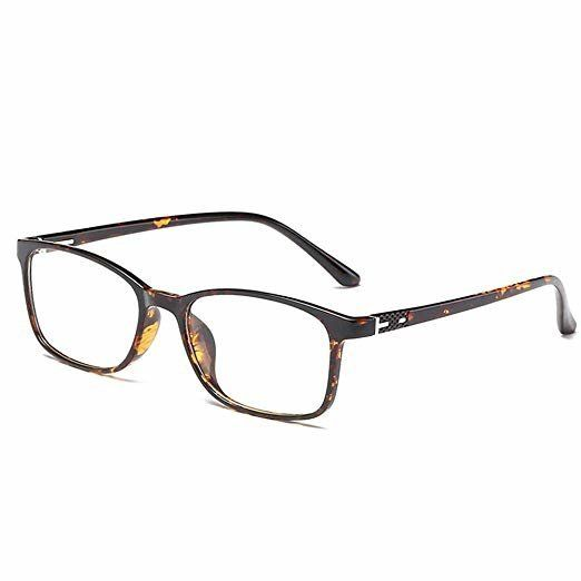 f0fa22ccbe Anrri Tortoise Blue Light Blocking Glasses For Computer Use. Amazon