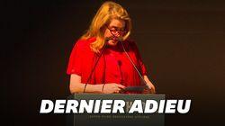 Catherine Deneuve très émue pour son hommage à Agnès
