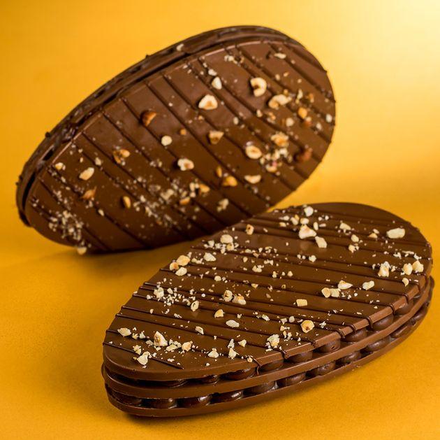 Ovo 'plano' de chocolate é a mais nova tendência bizarra para a Páscoa deste
