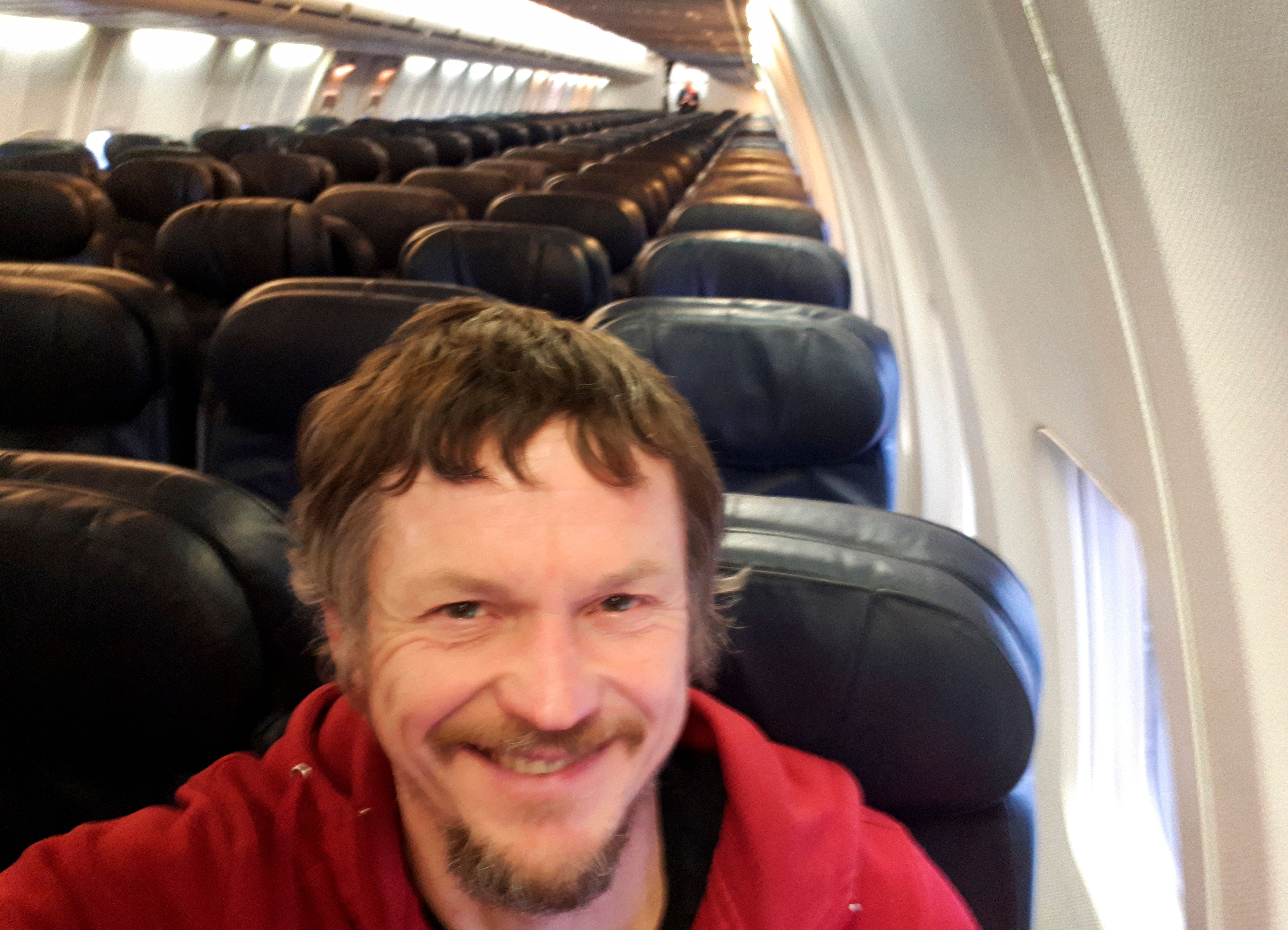 Lithuanian Man Discovers He's Lone Passenger On Huge