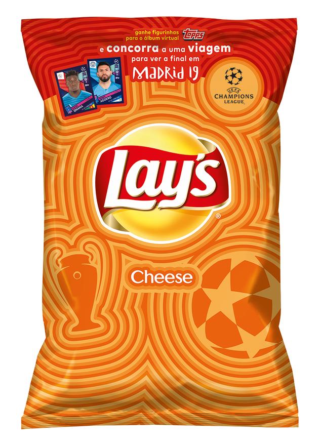 Lay's traz ao Brasil nova chips sabor queijo, que é sucesso na