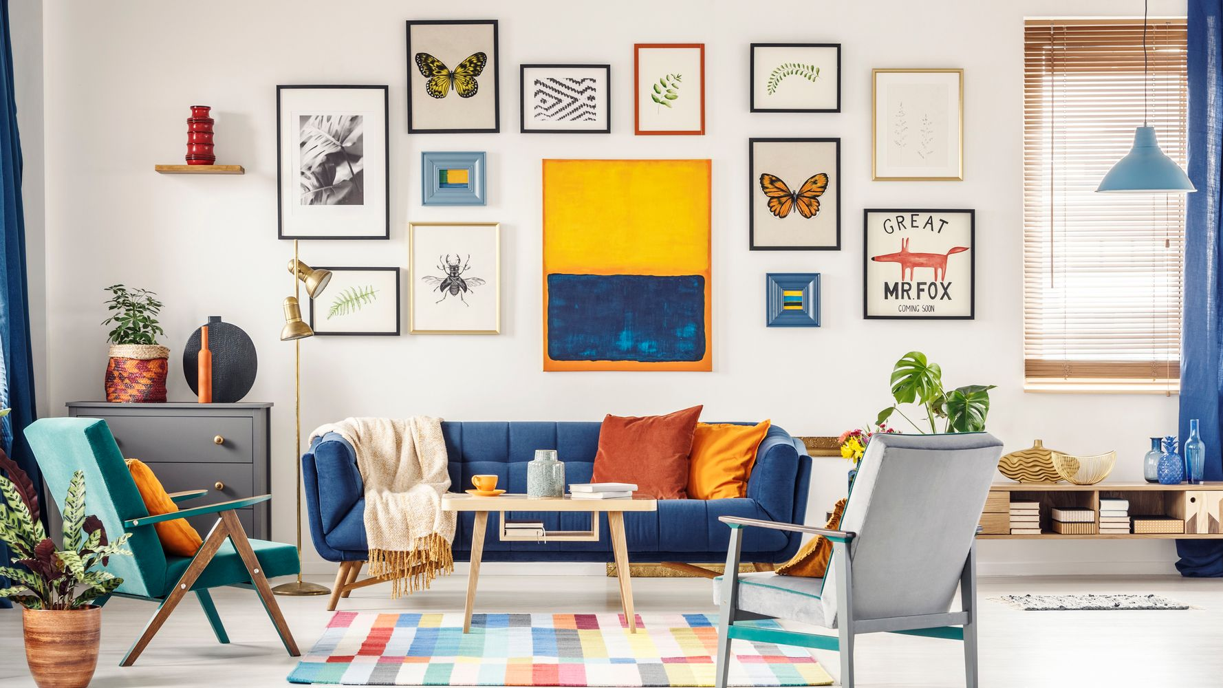 How To Create A Gallery Wall Interior Designers Share Their Top Tips Huffpost Uk Life