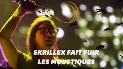 La musique de Skrillex pourrait protéger des attaques de