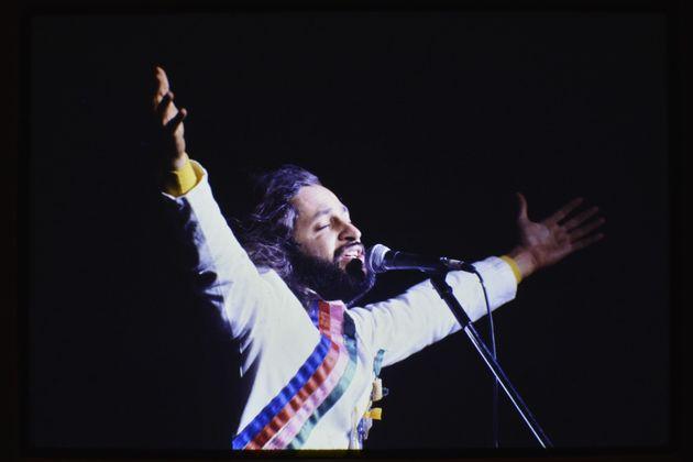 O cantor Alceu Valença foi uma das atrações em