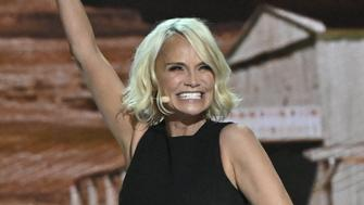 WASHINGTON - DECEMBER 2: An extraordinary group of renowned  artists gather in Washington D.C. to salute this year's honorees at THE 41st ANNUAL KENNEDY CENTER HONORS, to be broadcast Wednesday, Dec. 26 on the CBS Television Network. Pictured: Kristin Chenoweth (Photo by Michele Crowe/CBS via Getty Images)