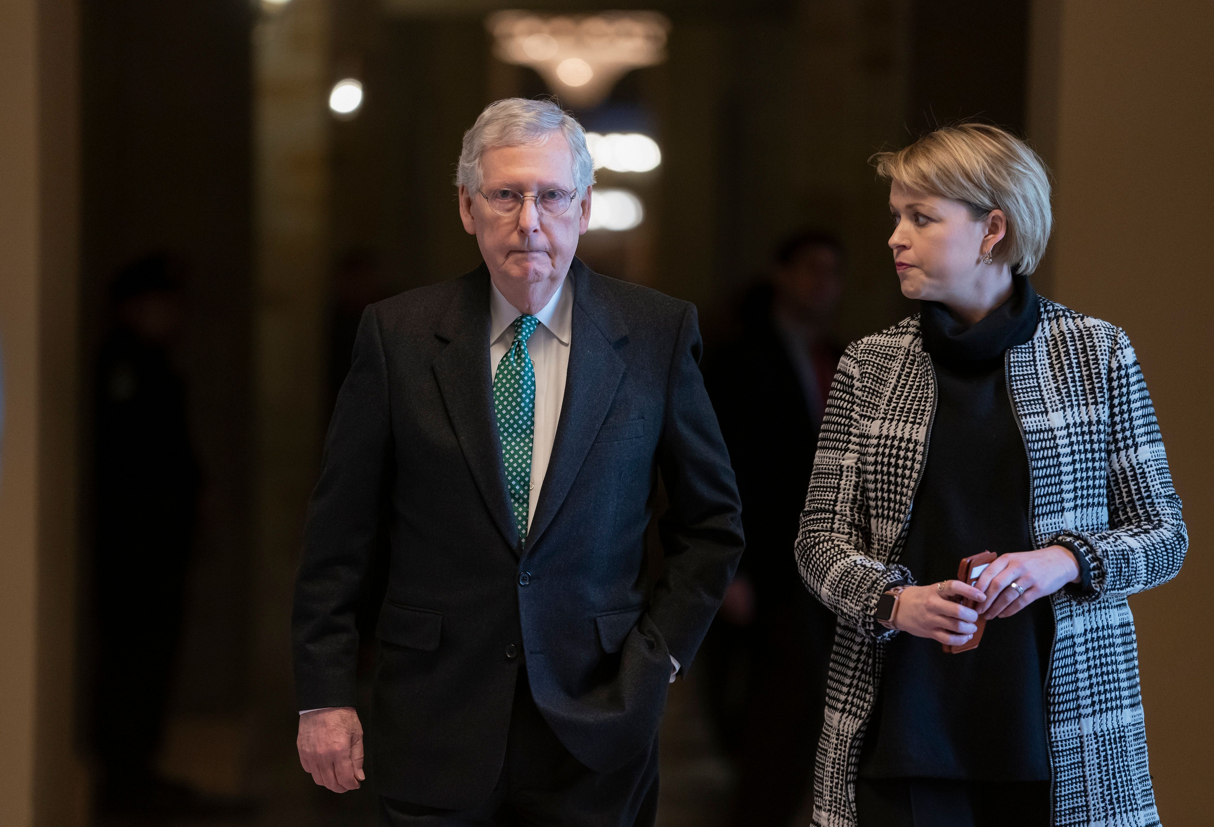 Senate Majority Leader Mitch McConnell has already made it easier for Republicans to confirm Trump's Supreme Court nominees a