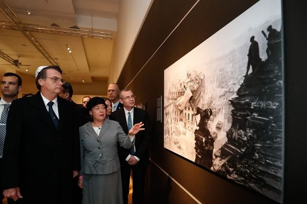 Bolsonaro visita o Centro de Memória do Holocausto (Yad Vashem), em