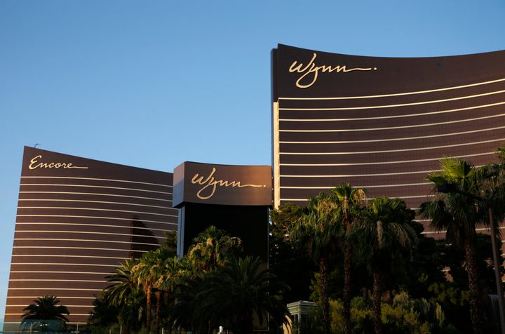 Wynn Las Vegas and Encore resorts in Las Vegas, both owned and operated by Wynn Resorts. Company executives covered up CEO St