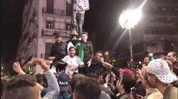 Scènes de liesse à Alger-Centre après la démission de Bouteflika
