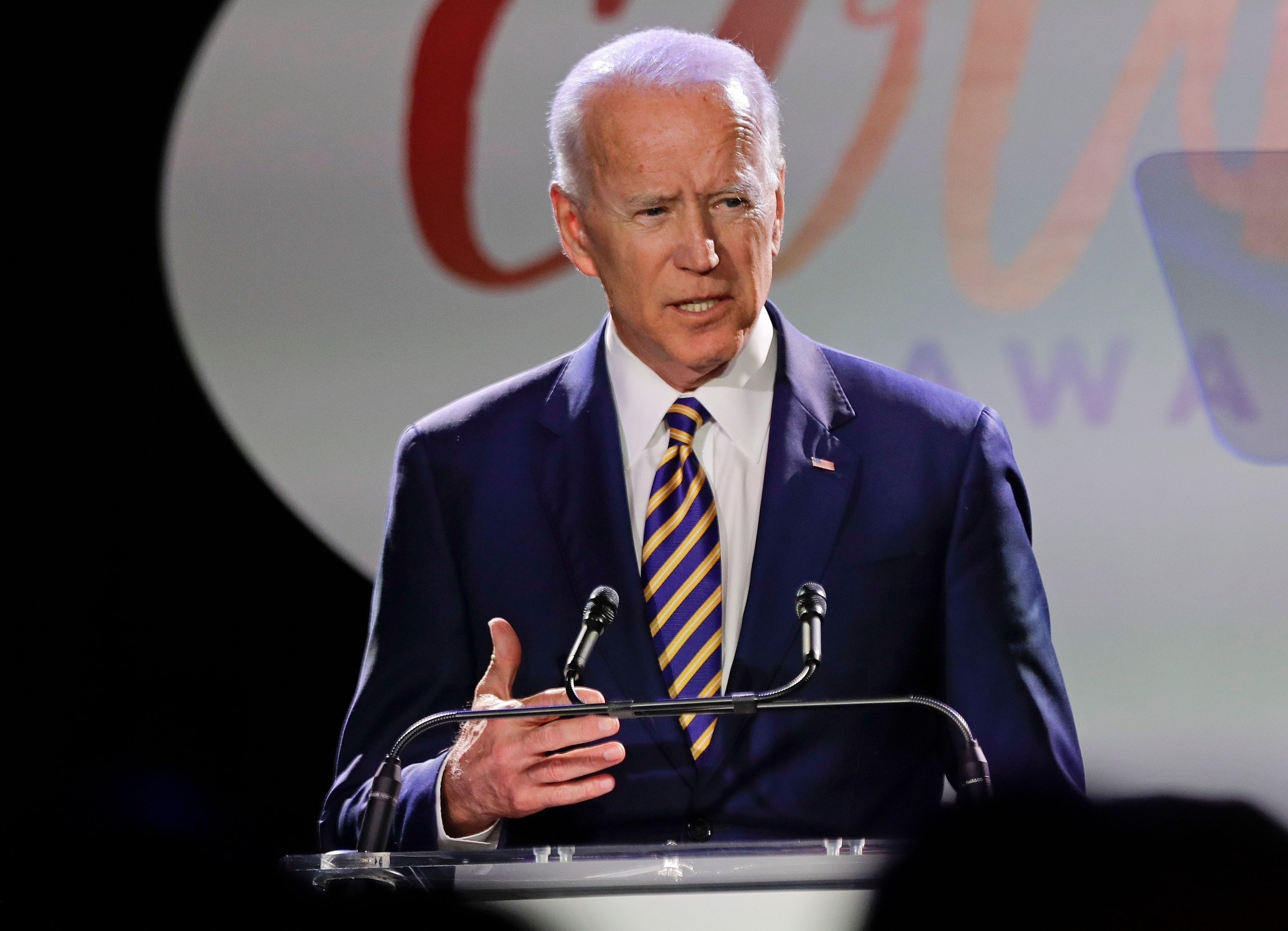 Former Vice President Joe Biden has been facing heat for his previous positions as he considers a run for president.