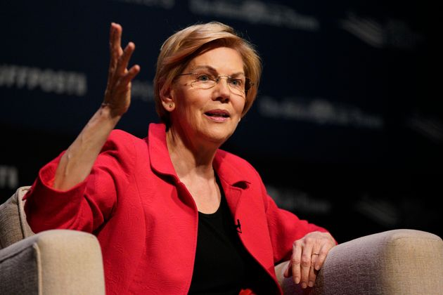 Earlier this year, Sen. Elizabeth Warren (D-Mass.) said she wouldn't tap traditional big-donor...