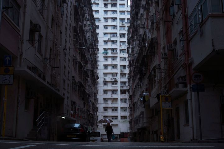 In Hong Kong, hundreds of thousands live in partitioned apartments called 'coffin homes.'