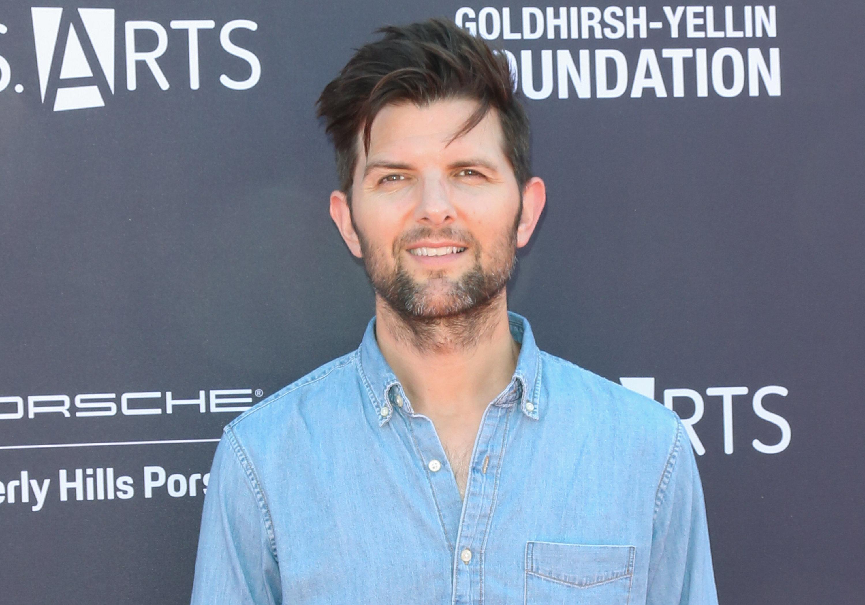 Adam Scott has two children with his wife, Naomi Scott.