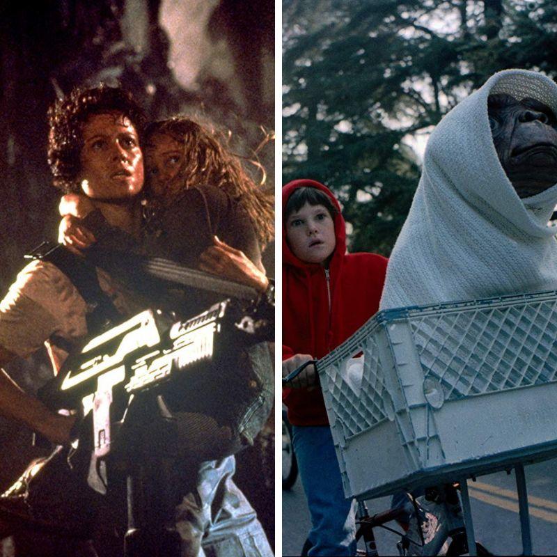 O mortal xenomorfo de Aliens: O Resgate e o fofinho E.T. são dois dos alienígenas mais...