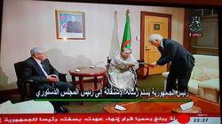 Bouteflika remet sa lettre de démission personnellement au président du conseil