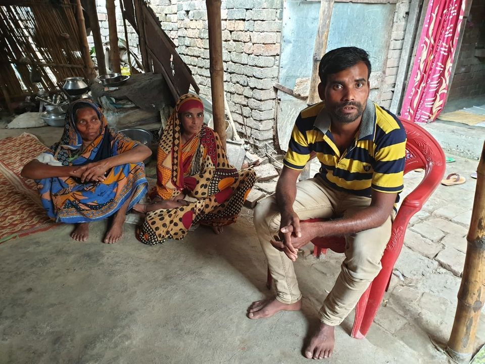 Men in Khan's village are scared of working in Rajasthan, but have to because there's no work in