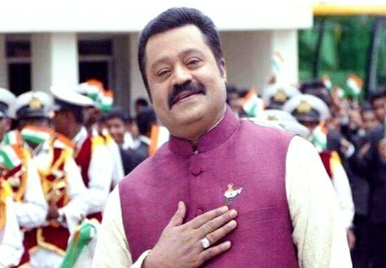 BJP Fields Actor Suresh Gopi From Thrissur In