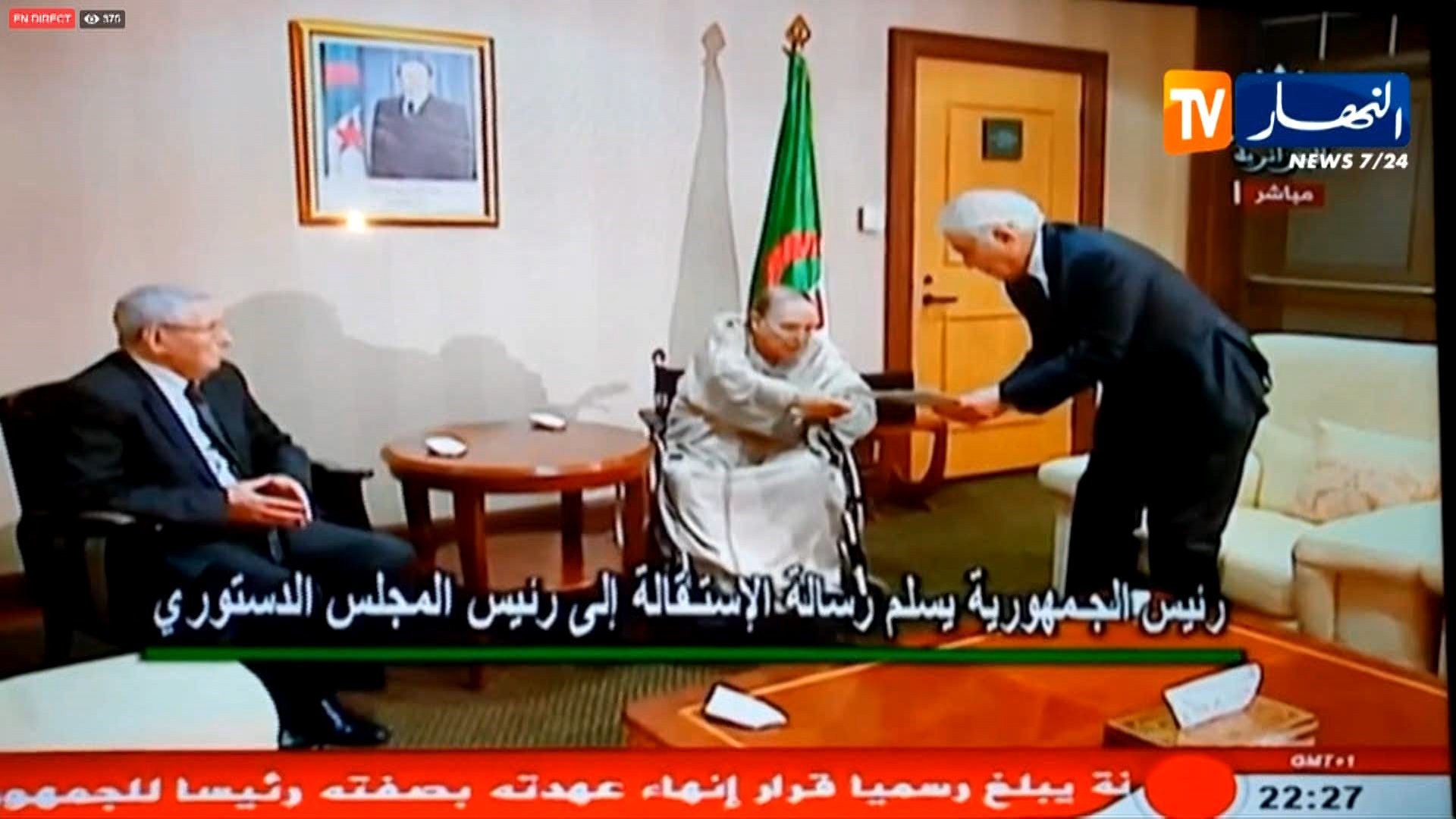 En Algérie, Bouteflika a