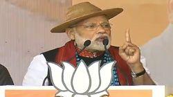 Modi Says Congress Manifesto Full Of Lies, A 'Hypocrisy