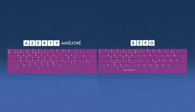 Azerty amélioré et BEPO, voici les nouveaux claviers