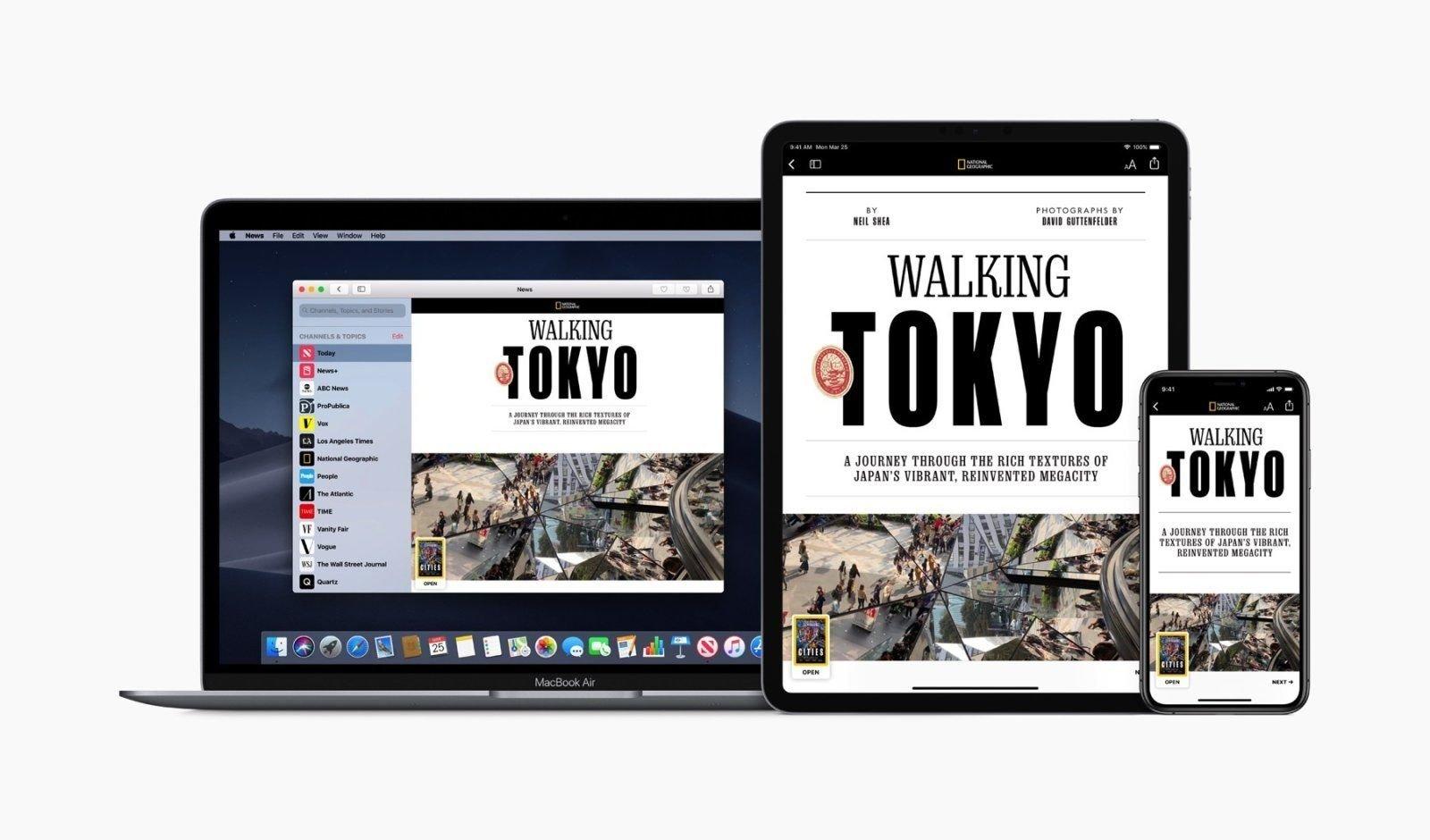 アップル、大手新聞にApple