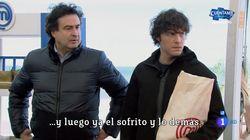 El impresionante cabreo de Jordi Cruz en 'MasterChef' (TVE):
