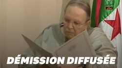 Les images de Bouteflika, très affaibli, remettant sa